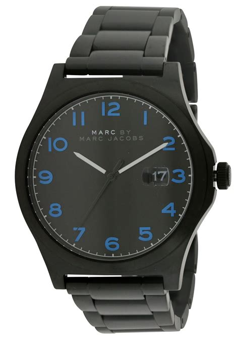 Marc Jacob With Date marc by marc jimmy black mens mbm5059