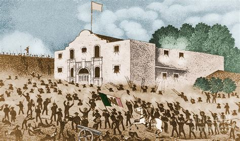 the siege of the alamo battle of the alamo photograph by omikron