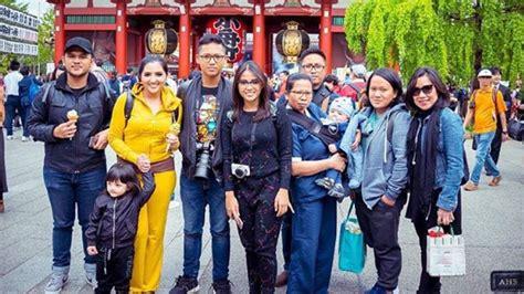 Lipstik Ashanty keluarga anang hermansyah liburan ke jepang ashanty buat