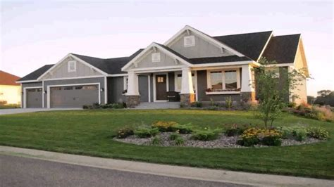 24 3 car garage house plans ranch house decor23 ranch style house with 3 car garage youtube