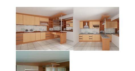 Piring Generation furniture interior harga terjangkau kitchen set model lurus meja bar