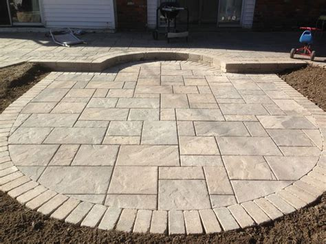 How To Install Unilock Pavers Unilock Large Size Paver Beacon Hill Outdoor Patios