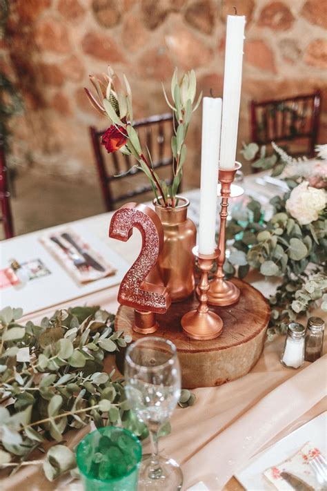 Rustic Rose Gold Wedding by Aline Photography   SouthBound