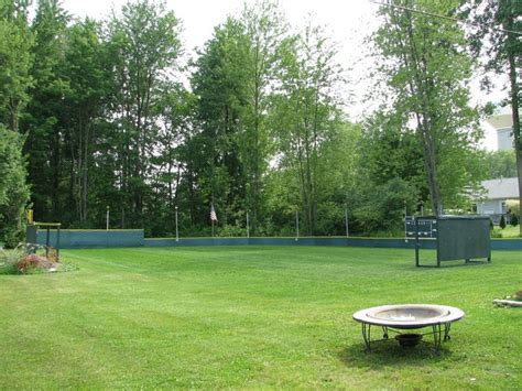 backyard wiffle ball game 12 best images about wiffle ball field on pinterest stew