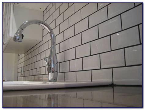 white subway tile backsplash with dark grout car white subway tile backsplash dark grout tiles home