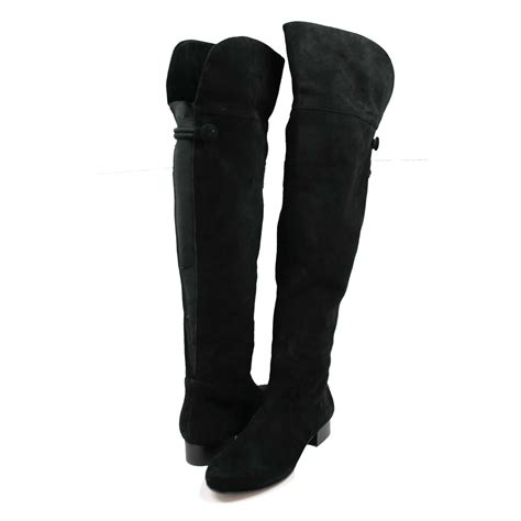 the knee boots wide calf ros hommerson simply wide shaft the knee boot black