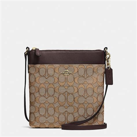 coach swing pack coach designer crossbody north south swingpack in