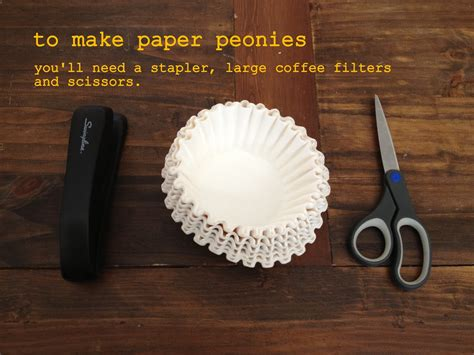 How To Make Coffee Paper - diddle dumpling tutorial coffee filter flowers