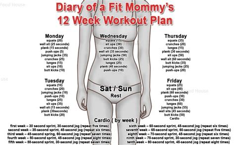 10 week no home workout plan that burns guaranteed