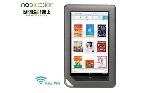 Barnes And Nobles Free Wifi Barbara S Beat Barnes And Noble 8gb Color Nook Ereader