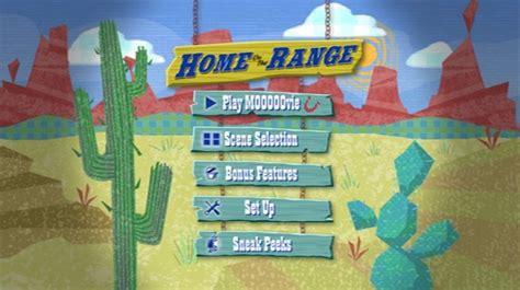 home on the range 2004 dvd menus