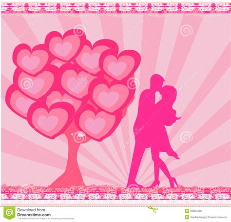 romantic printable greeting cards greeting card romantic couple stock illustration image