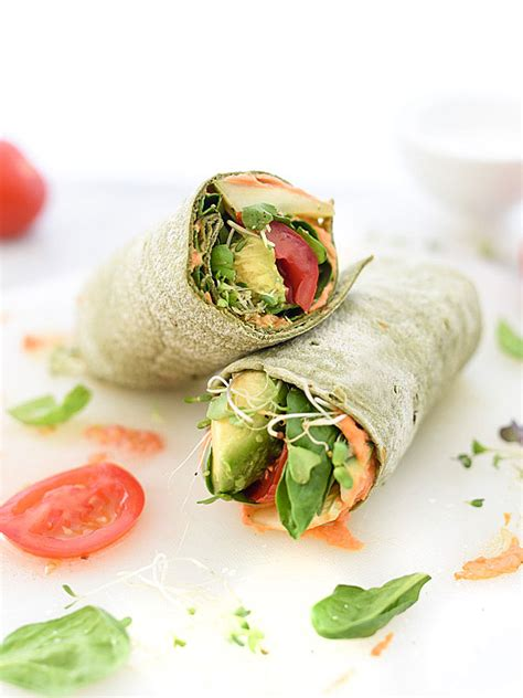 hummus veggie wrap plus 10 heavenly hummus recipes to make