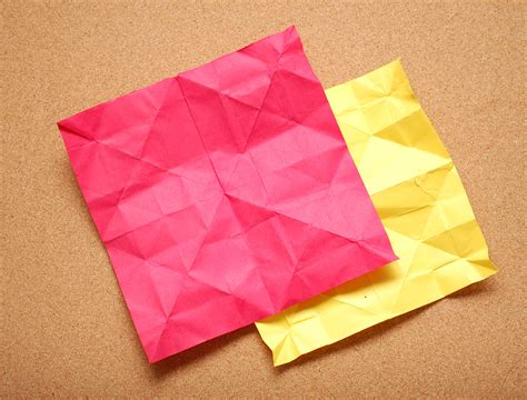 Origami Paper Folding - how to choose paper for origami 6 steps with pictures