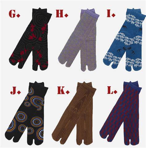japanese ninja pattern japanese ninja tabi shoes boots 1 pair of tabi socks set