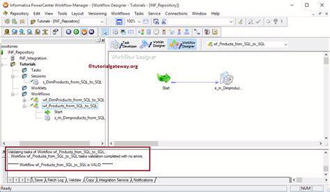 informatica workflow how to create informatica workflow using wizard