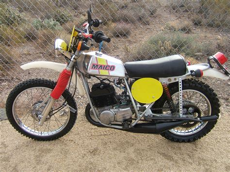 street legal motocross yamaha maico 1974 5 mc360 vintage mx motocross enduro