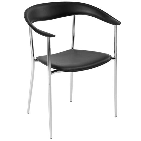 kitchen chairs black and chrome 28 images safina