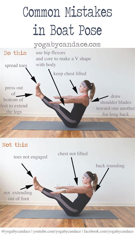 dynamic boat pose common mistakes in boat pose strength yoga and pose