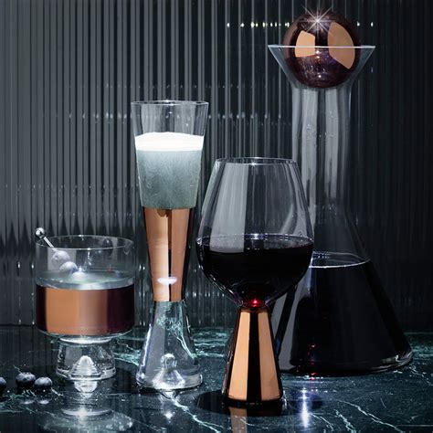 Bar Glasses And Accessories Tank Cocktail Kit By Tom Dixon Decoration Uk