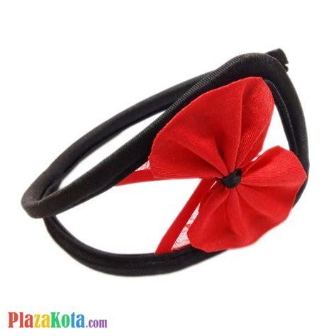 Sale Ovila Fashion Merah Hitam G String jual cs034 celana dalam c string wanita crotchless hitam pita merah plazakota