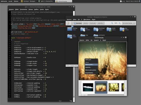 Gnome Themes Free Download | top 30 dark gnome themes gtk 2 x linuxnov