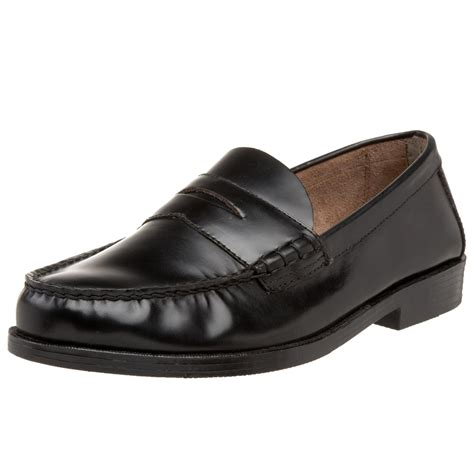 loafers for bass bass mens walton loafer in black for black ranch