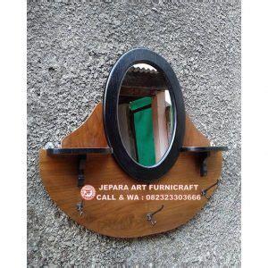 Cermin Oval stop miliki segera cermin jati vintage oval harga murah