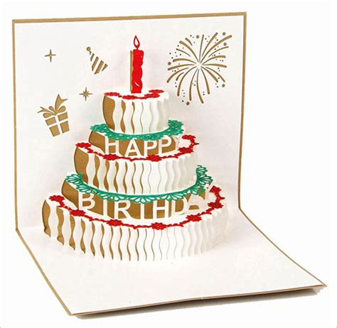 lasercut popup card template 25 best happy birthday greeting cards you should buy