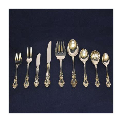 reed barton reed barton baroque sterling silver set