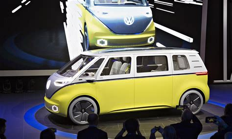 volkswagen buzz price vw seeks flower power revival with greener microbus