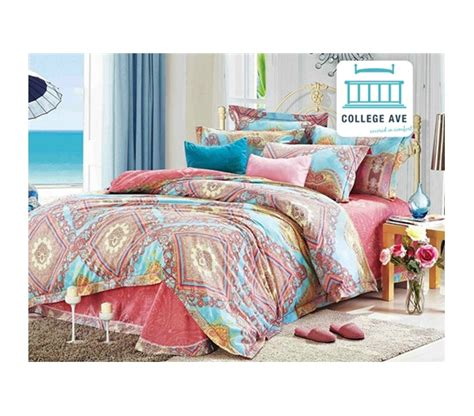 college bedding twin xl persian brush twin xl comforter set college ave designer