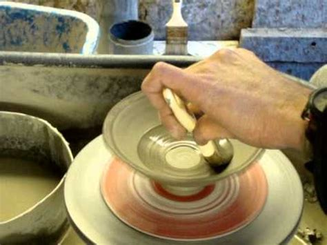 decorating pottery simple slip decorating a few clay pottery bowls on the
