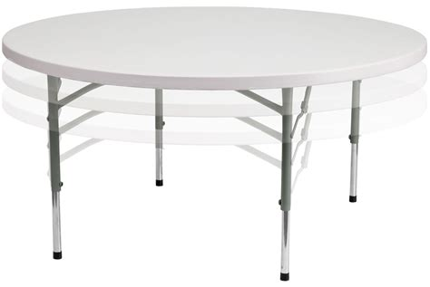 White Plastic Folding Table 60 Quot Height Adjustable Granite White Plastic Folding Table From Renegade Rb 60 Adjustable