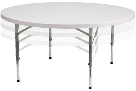 2 plastic table 60 quot height adjustable granite white plastic folding