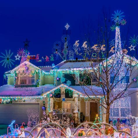 11 best christmas light displays in nevada 2016