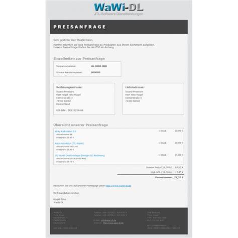 Angebot Vorlage Email design angebot vorlage 28 images jtl wawi email vorlagen html design 01 wawi dl 10 00