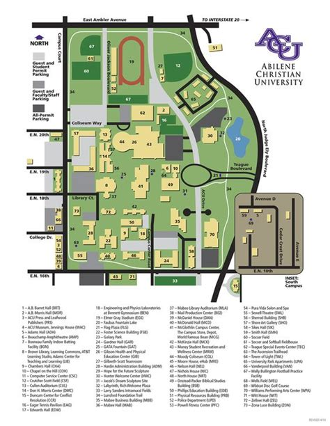 texas christian university map cus map abilene christian university texas our texas cus map maps and