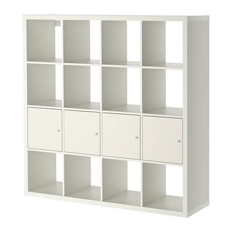 Etagere Landhaus by Kallax Shelf Unit With 4 Inserts White Ikea