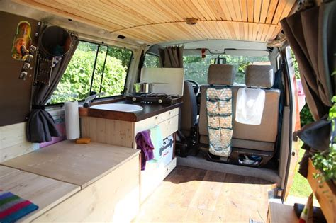 this family lives life in a van business insider wood herbs vanning vanlife van vw t4 cing
