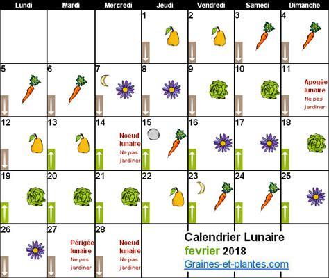Jardiner Avec La Lune Mars 2018 by Calendrier Lunaire Fevrier 2018
