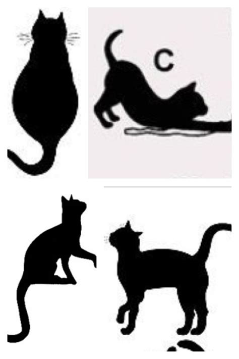 cat silhouette tattoo cat silhouette ideas tattoos cats