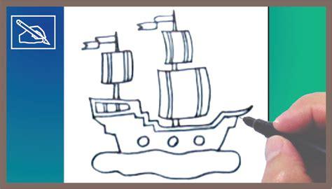 como hacer un barco dibujo facil c 243 mo dibujar un barco con velas how to draw a sailing
