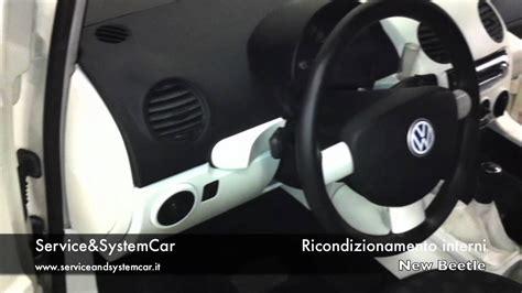 new beetle interni service systemcar ricondizionamento ripristino interni