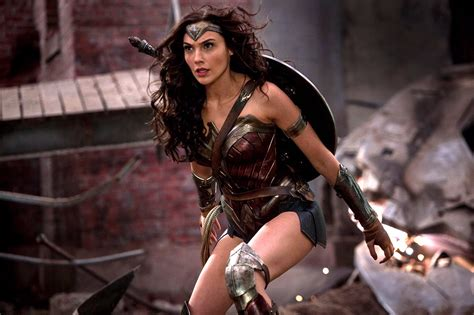 gal gadot new film wonder woman receives film rating dc comics news