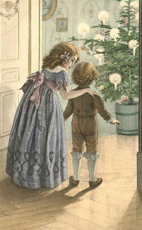 imagenes uñas vintage винтажные рождественские и новогодние открытки хх века 57