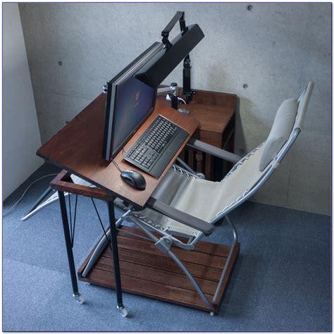 swivel table top for recliner swivel laptop table for recliner desk home design