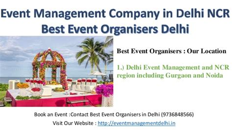 Mba Colleges In Delhi Ncr Region by Event Management Company In Delhi Ncr