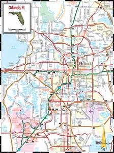 Orlando Highway Map by Orlando Map