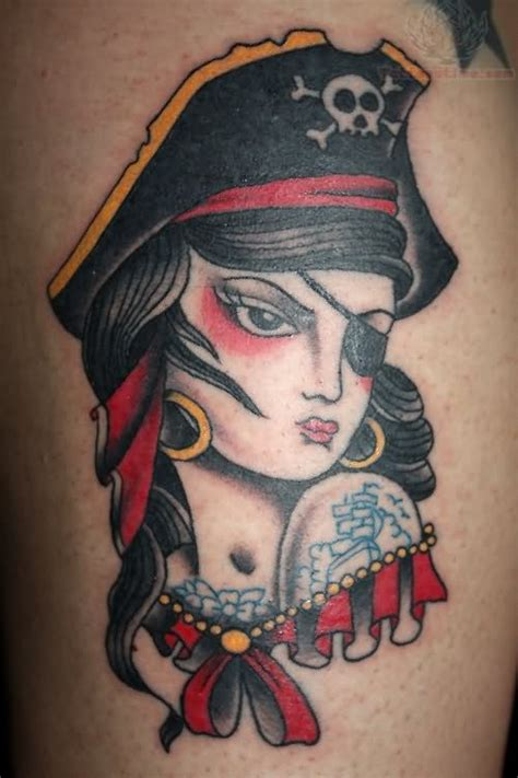 pirate girl tattoo 45 unique tattoos